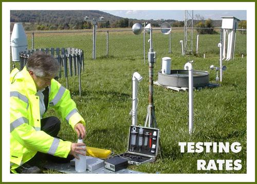 Water  Testing Rates